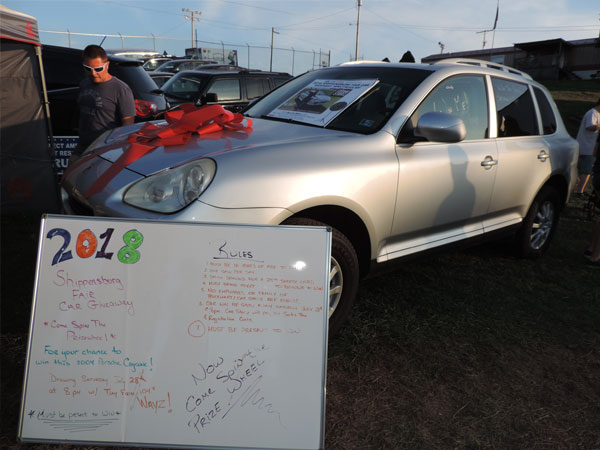 2004 Porsche Won at Shippensburg Fair