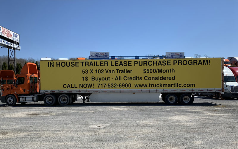 New In-House Trailer Purchase Program