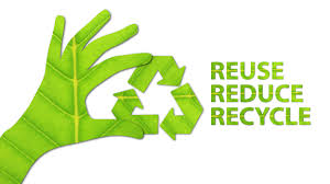 Remember that resources have to be used to make and transport other resources. try to reuse and recycle whenever possible to cut down on the amount of waste and lessen our overall impact on the world.