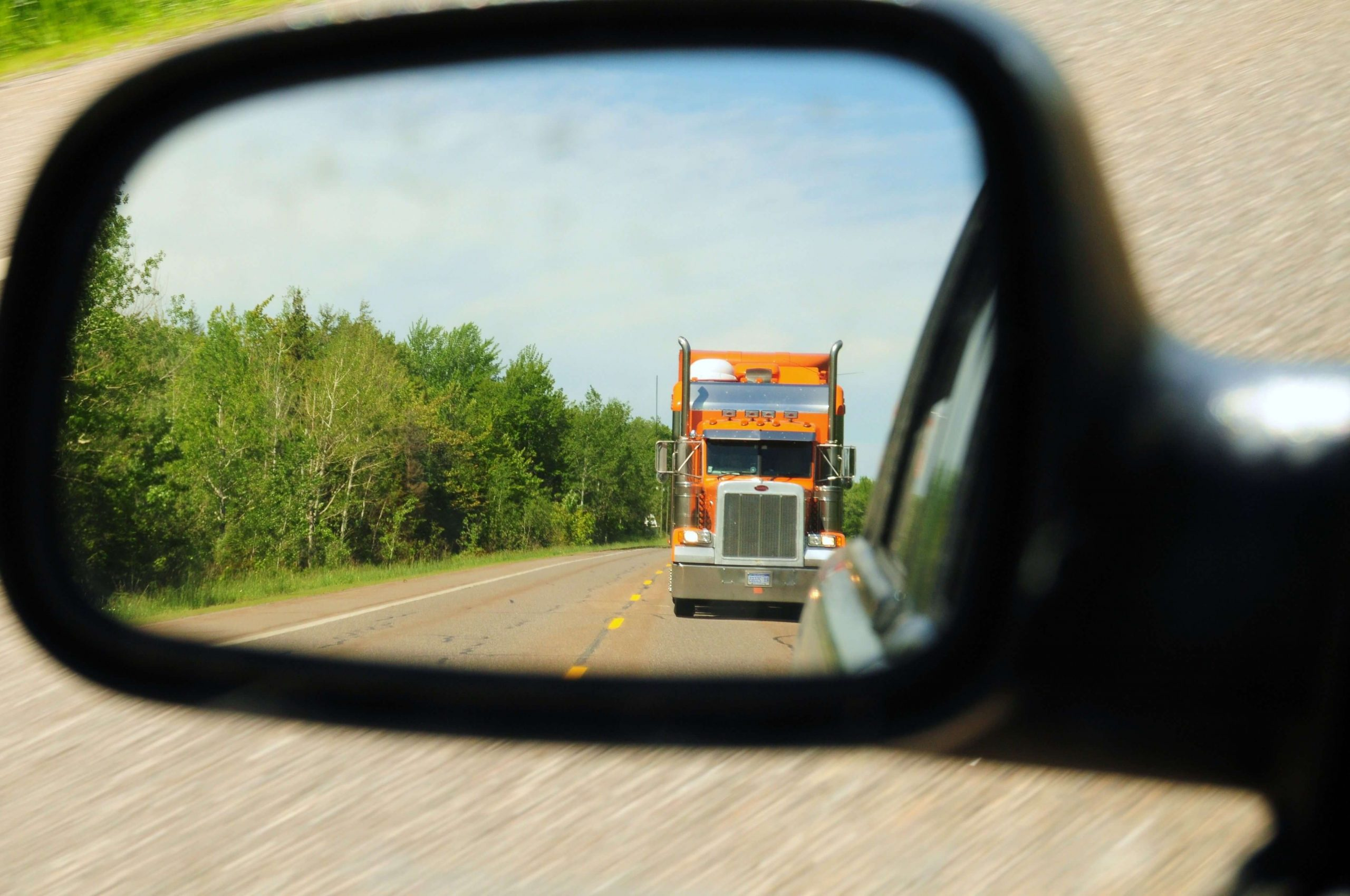 Try to avoid slamming your brakes uncessarily, both as a general motorist and as a trucker.